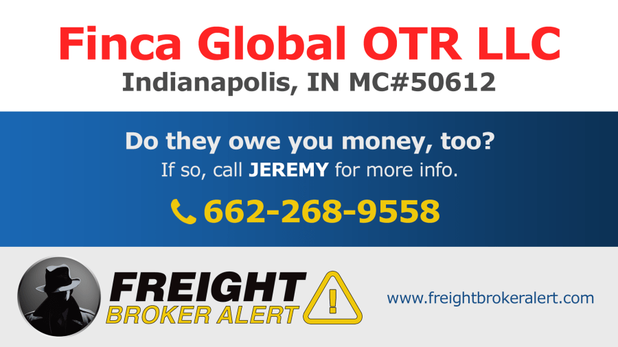 Finca Global OTR LLC Indiana