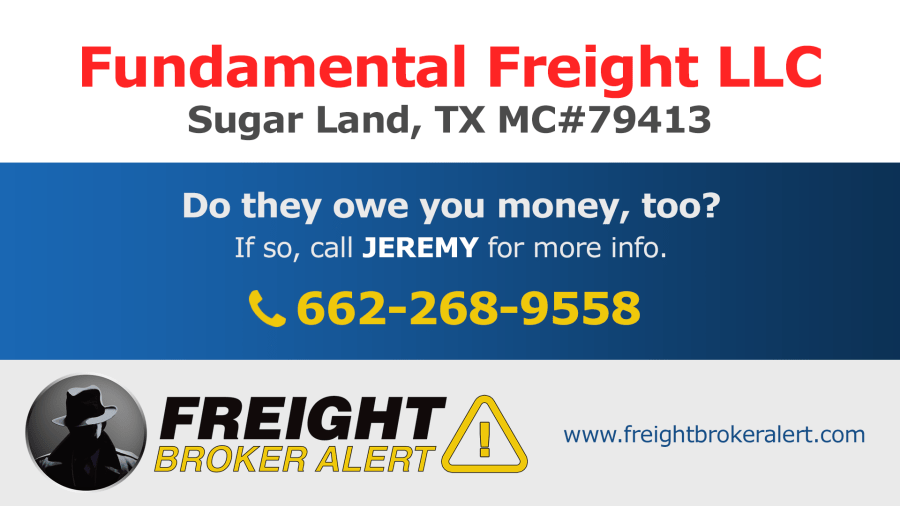 Fundamental Freight LLC Texas