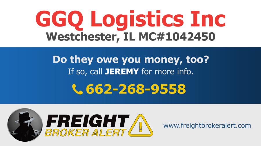 GGQ Logistics Inc Illinois