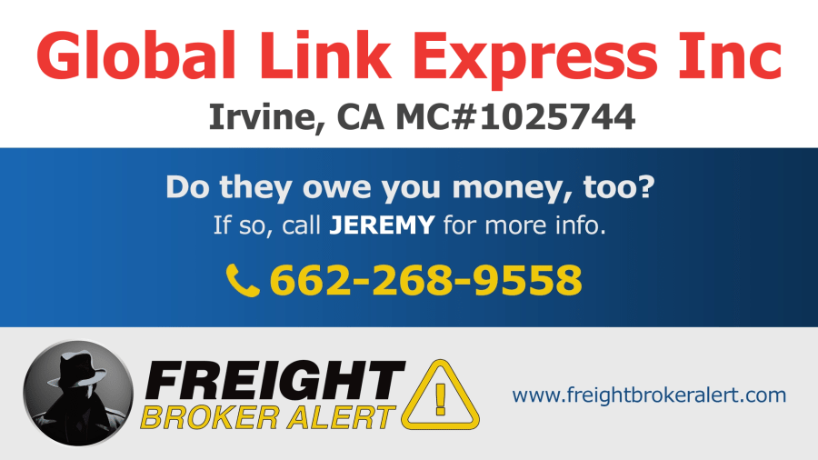 Global Link Express Inc, California