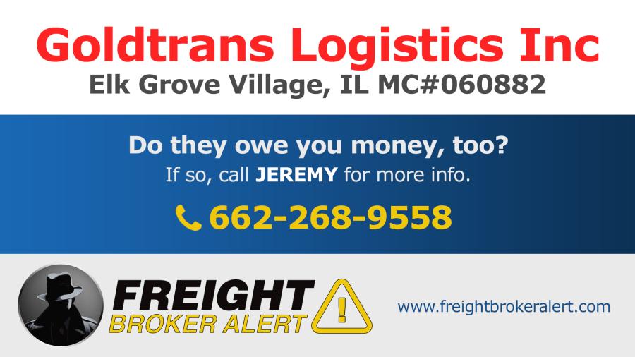 Goldtrans Logistics Inc Illinois