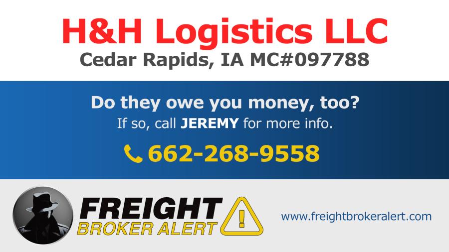 H&H Logistics LLC Iowa