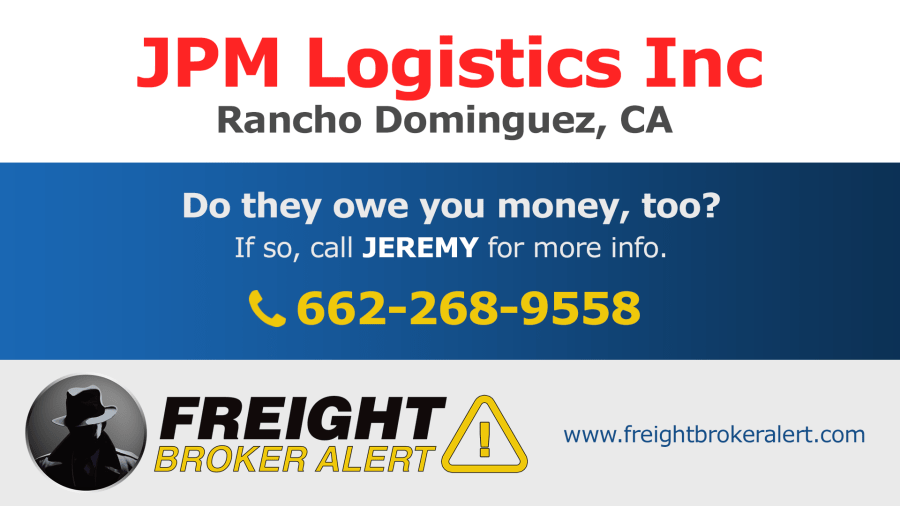 JPM Logistics California
