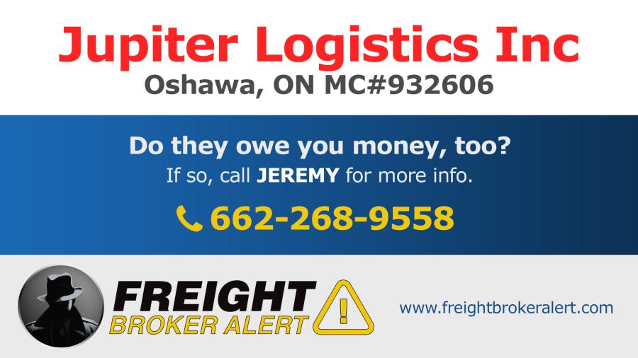 Jupiter Logistics Inc Ontario Canada