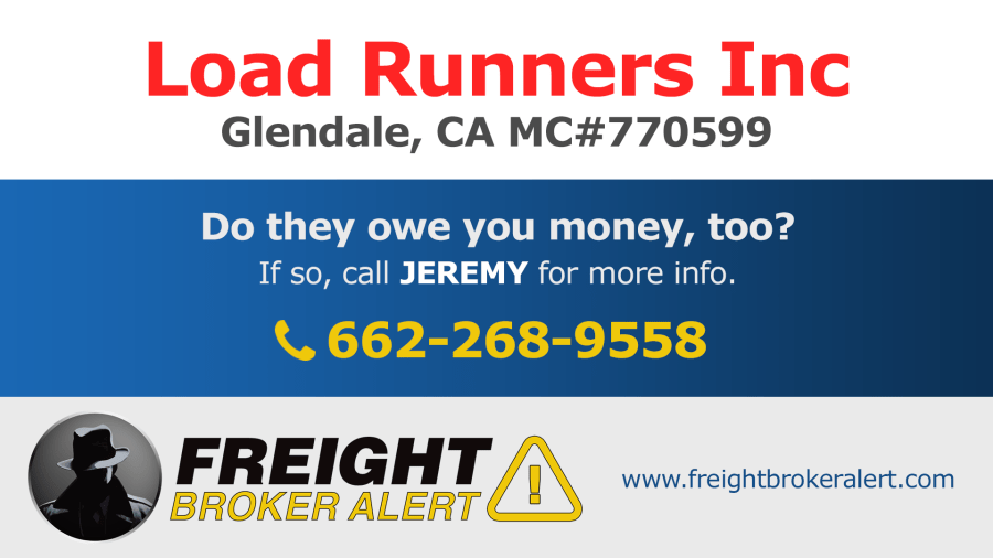 Load Runners Inc California