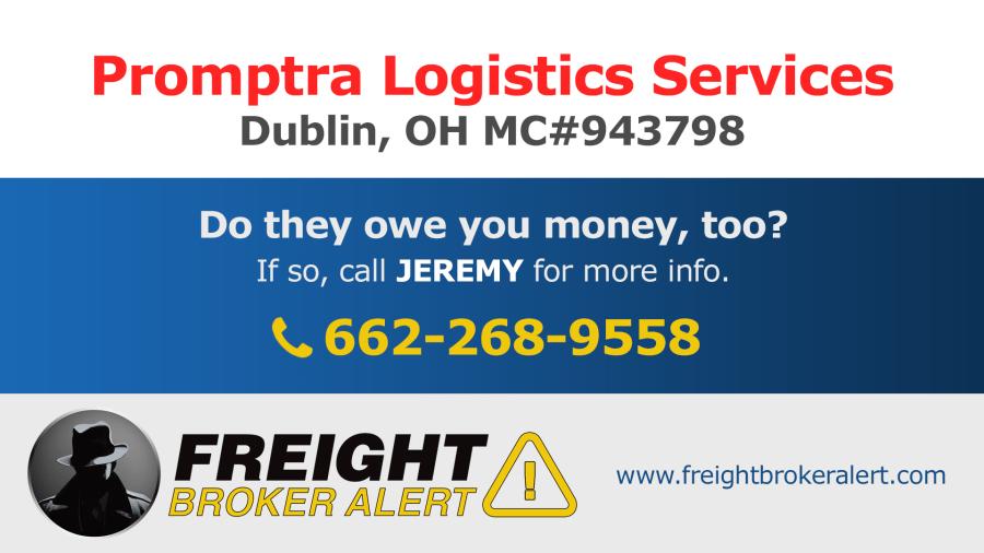 Promptra Logistics Services LLC Ohio