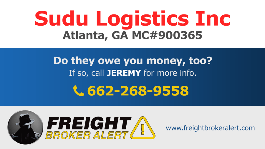 Sudu Logistics Inc Georgia
