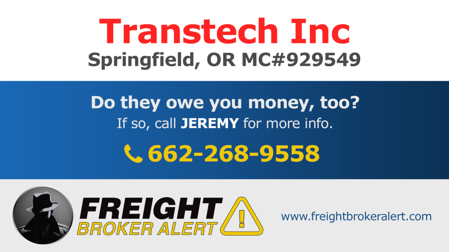 Transtech Inc Oregon