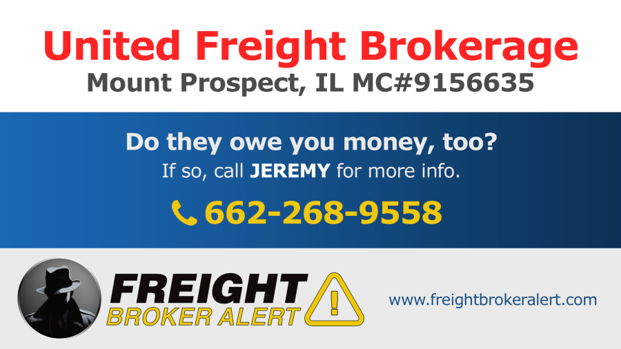 United Freight Brokerage Illinois