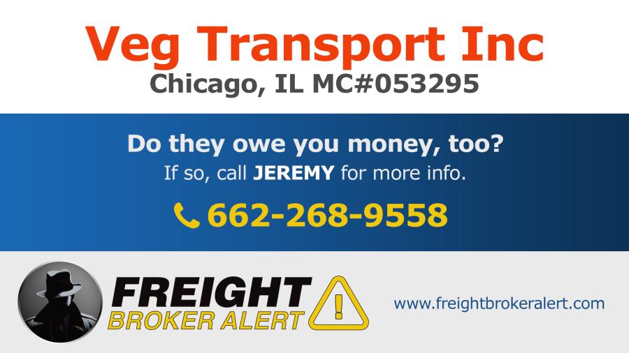 Veg Transport Inc Illinois