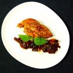 Fusion-Cuisine: Hähnchenbrust |Pflaumen|Rote Beete Chutney