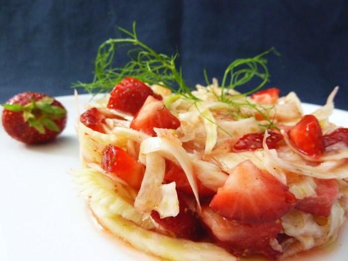 Fenchel |Erdbeeren |Fruchtessig