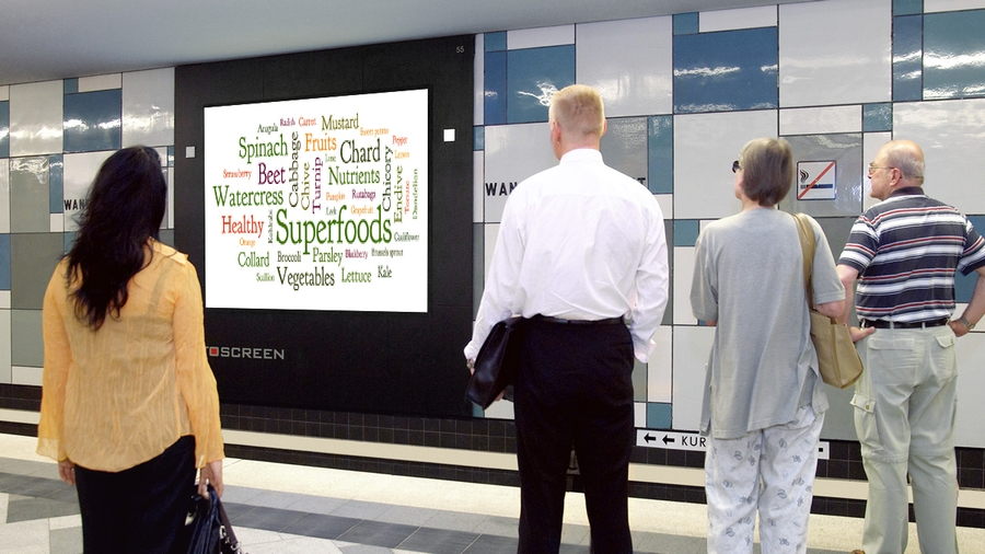 Superfoods_Infoscreen_Hamburg_Wandsbek_Markt 2