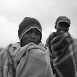 Hirtenkinder Lesothos