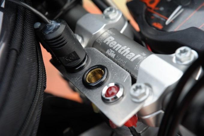 Steckdosen KTM Lenker