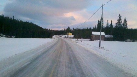 Beste Straße zum Winterbiken