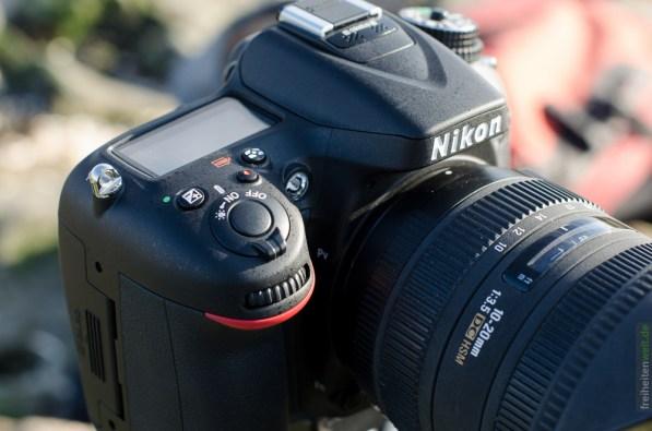Nikon D7100 von oben