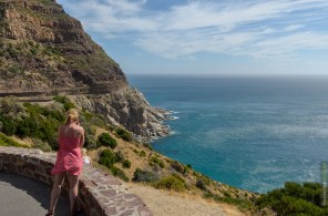 Ausblick vom Chapman's Peak Südafrika