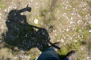 Pfad und Schatten