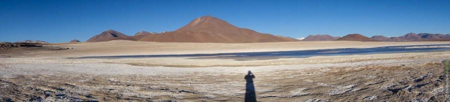 Panorama nahe der Laguna Verde