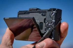 Sony RX100 II Display