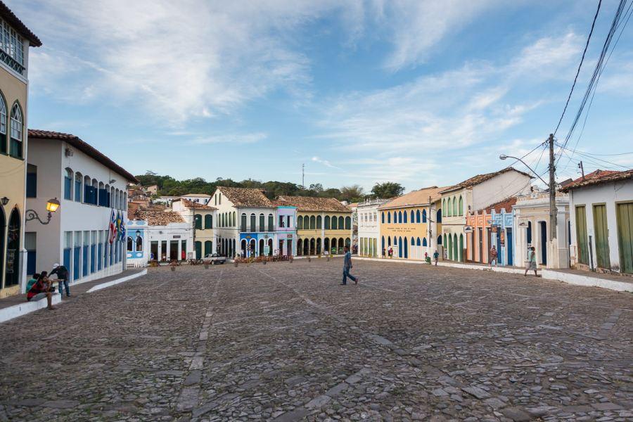 Lencois Marktplatz