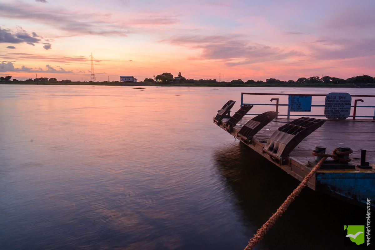 Sonnenuntergang Rio Paraguay