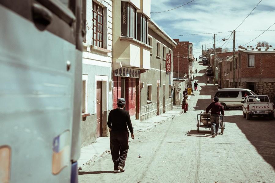 Straße Bolivien