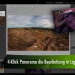 4-Klick Panorama die Bearbeitung