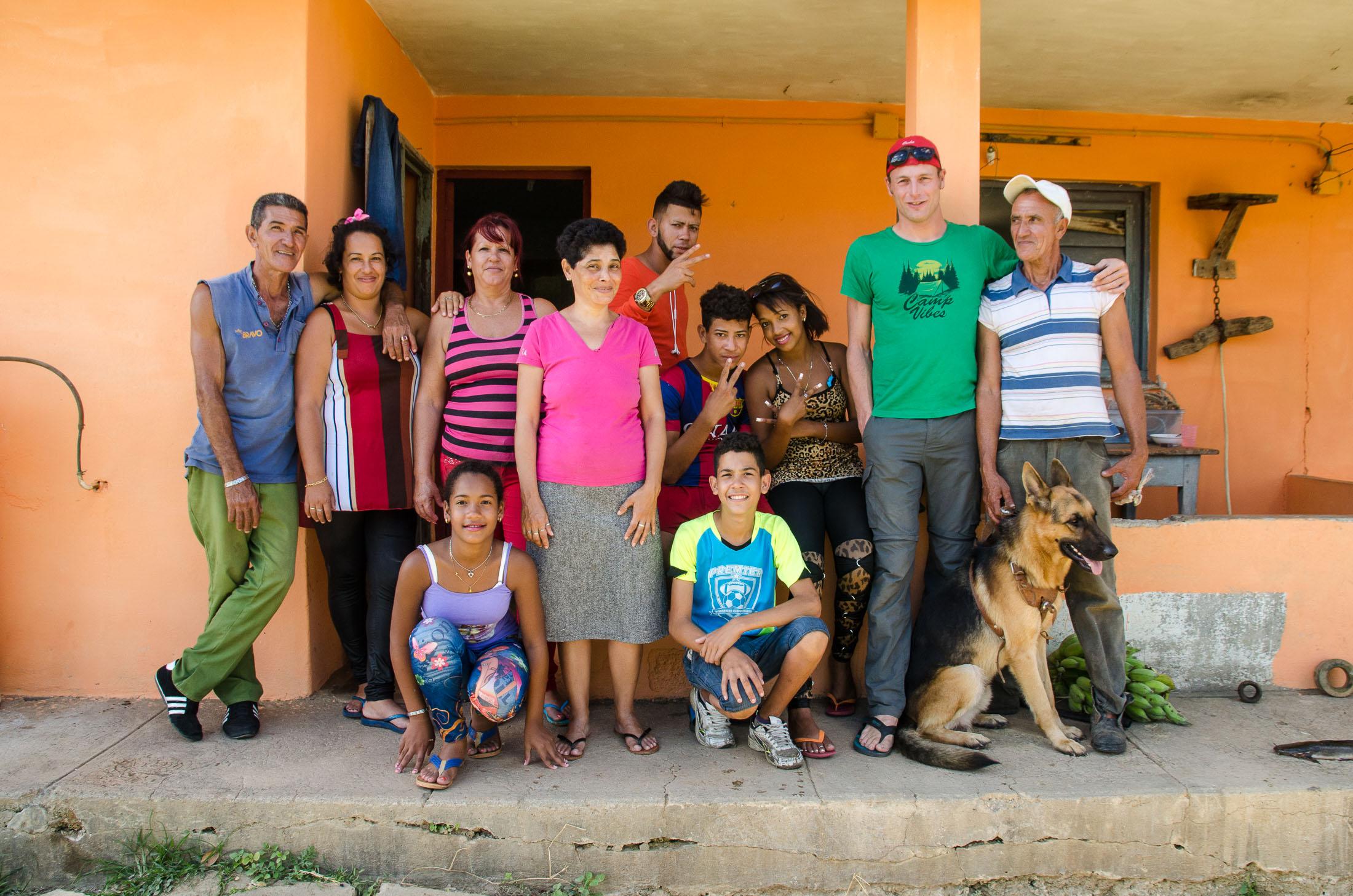 Monzi und Familie