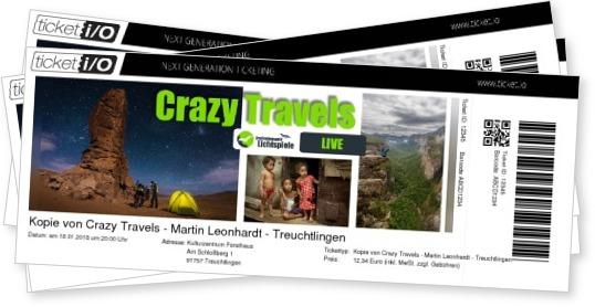 Crazy Travels Tour