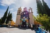 Kirche Popo Mexiko