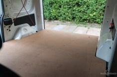 Zwischenboden Selbstausbau Fiat Doblo