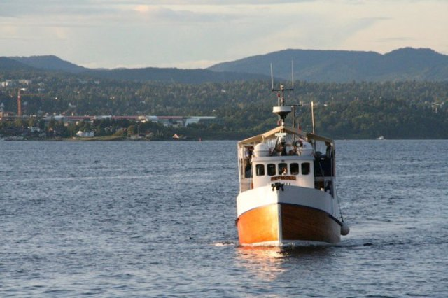 Freikoll Fjord cruisei in the fjord of Oslo.