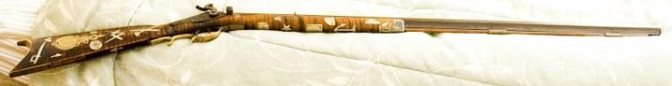 Masonic Inlaid Rifle 3