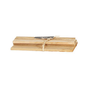 Cedar wood planks (set of 3)