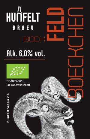 HUNFELT BRAU FELD-BOECKCHEN 330 ml, 6,0% vol.
