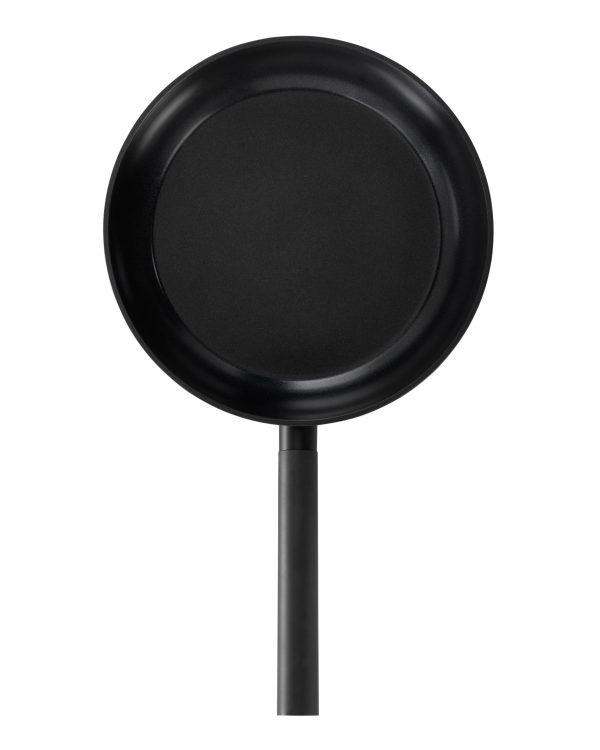 Combekk Aluminium Bratpfanne recycelt mit gerundetem Rand 28 cm schwarz