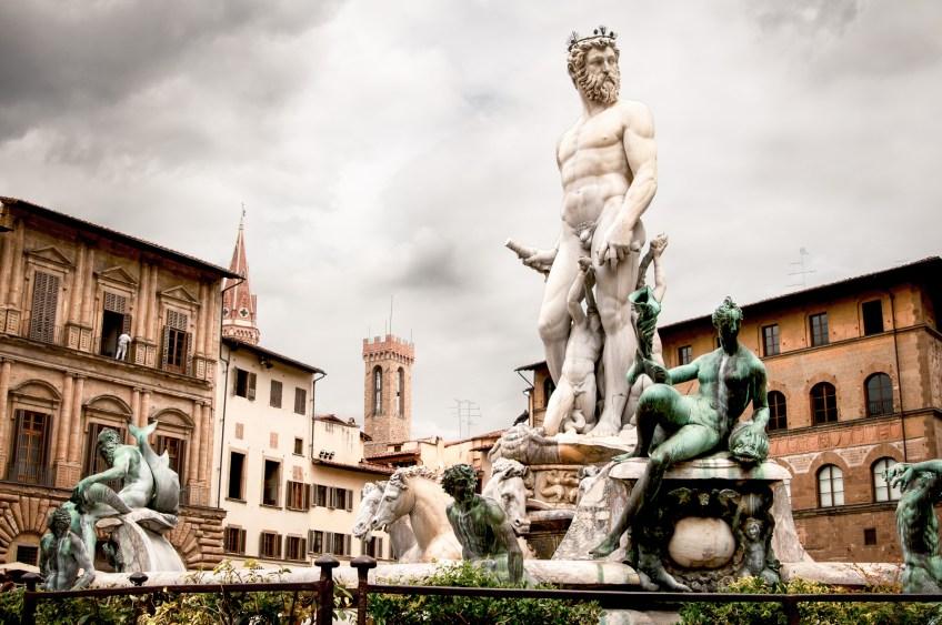 Florenz-Neptun-Brunnen