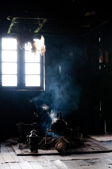 Myanmar - Shan Staat Feuerstelle