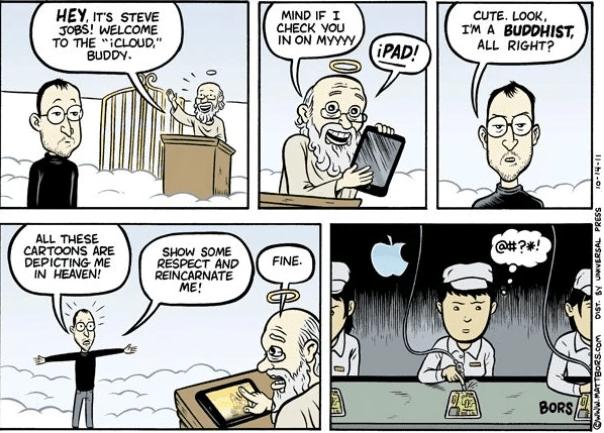 Steve Jobs Wiedergeburt