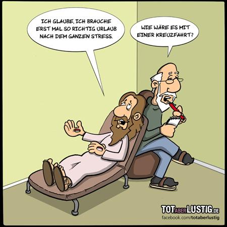 Jesus auf Kreuzfahrt