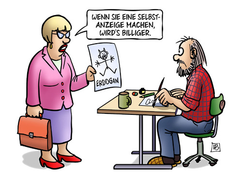 Satire: Erdogan vs. B&...
