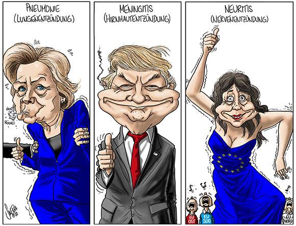 Clinton, Trump oder die EU?