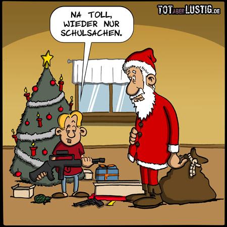 Schulsachen zu Weihnachten