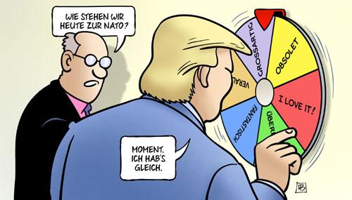 Trump und seine Laune