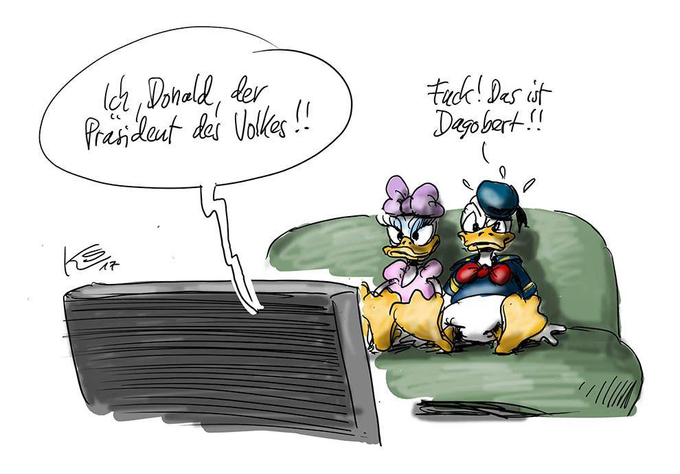 Donald Trump vs. Dagobert Duck