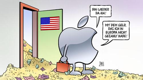 Apple: Rückkehr in die USA