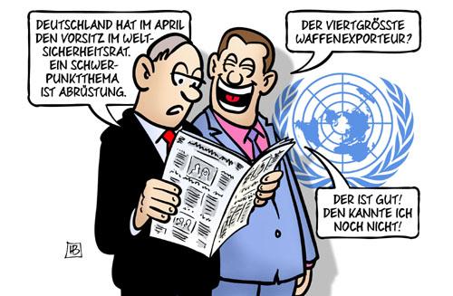 Deutschland: Vorsitz im Weltsicherheitsrat
