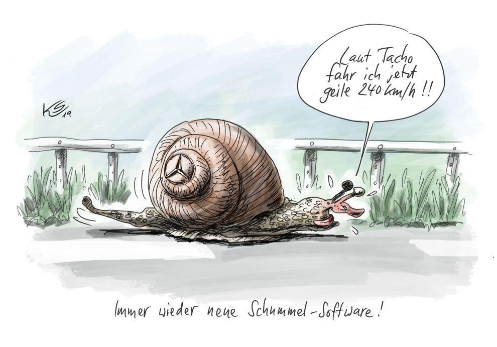 Schummel-Software bei Daimler entdeckt